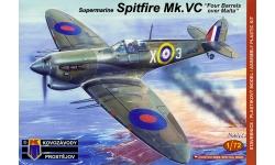 Spitfire Mk Vc Supermarine - KOVOZAVODY PROSTEJOV (KP) KPM0121 1/72