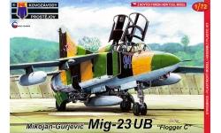 МиГ-23УБ - KOVOZAVODY PROSTEJOV (KP) KPM0141 1/72