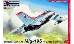 МиГ-19С - KOVOZAVODY PROSTEJOV (KP) KPM0158 1/72