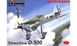 Dewoitine D.500 - KOVOZAVODY PROSTEJOV (KP) KPM0177 1/72