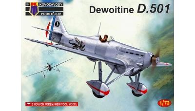 Dewoitine D.501 - KOVOZAVODY PROSTEJOV (KP) KPM0178 1/72