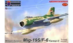 МиГ-19С / J-6 Shenyang Aircraft Corporation - KOVOZAVODY PROSTEJOV (KP) KPM0188 1/72
