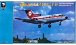 Як-40 (2-я/3-я серии) Яковлев - MARS MODELS 72102 1/72