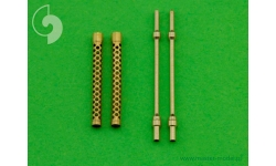 Стволы металлические для пулеметов Breda-SAFAT 7.7-мм - MASTER AM-48-053 1/48