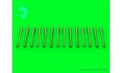 Разрядники статического электричества самолетов КБ МиГ (14 шт.) - MASTER AM-48-087 1/48