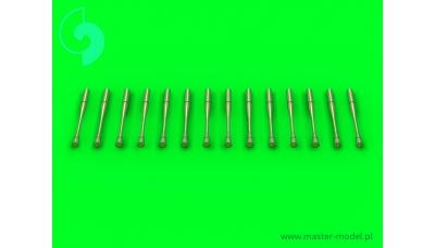 Разрядники статического электричества самолетов КБ Сухой (14 шт.) - MASTER AM-48-088 1/48