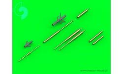 Су-17/20/22 Сухой. ПВД и стволы орудийные - MASTER AM-48-122 1/48