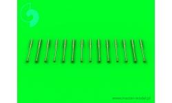 Разрядники статического электричества самолетов КБ МиГ (14 шт.) - MASTER AM-72-068 1/72