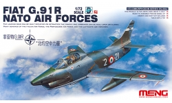 G.91R1/3 FIAT, Aeritalia, Gina - MENG DS-004s 1/72