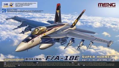 F/A-18E Boeing, Super Hornet - MENG LS-012 1/48