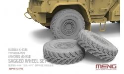 КамАЗ-К4386, Тайфун-ВДВ. Колеса (MENG) - MENG SPS-075 1/35