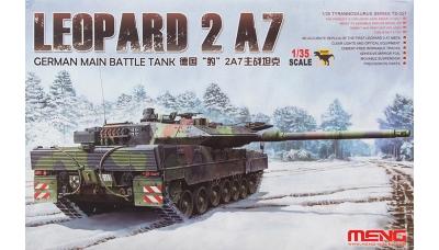 Leopard 2A7 Krauss-Maffei - MENG TS-027 1/35