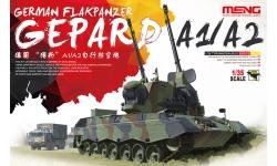 Flakpanzer Gepard 1/1A2 Krauss-Maffei - MENG TS-030 1/35