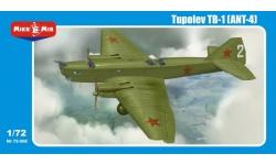ТБ-1 (АНТ-4) Туполев - MIKROMIR 72-008 1/72