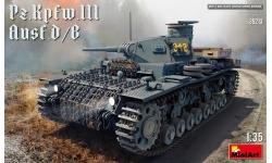 Panzerkampfwagen III, Sd.Kfz. 141 Ausf. B/D, Daimler-Benz - MINIART 35213 1/35