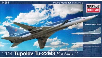 Ту-22М3 Туполев - MINICRAFT 14681 1/144