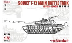 Т-72А/АВ/Б/Б1/БА - MODELCOLLECT UA72194 1/72