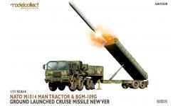 BGM-109G General Dynamics, Gryphon GLCM & M1014, MAN KAT1 8x8 (10t mil glw) - MODELCOLLECT UA72328 1/72