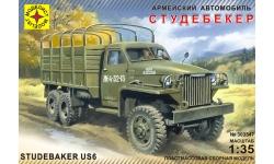 Studebaker US6/U3 2½-ton 6x6 Truck - МОДЕЛИСТ 303547 1/35