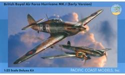 Hurricane Mk. I Hawker - PACIFIC COAST MODELS PCM 32010 1/32 PREORD