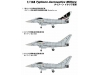 Typhoon Eurofighter (EF-2000), Single-seat variant - PIT-ROAD SN-11 1/144