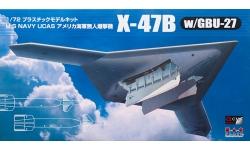 X-47B Northrop Grumman - PLATZ AC-12 1/72