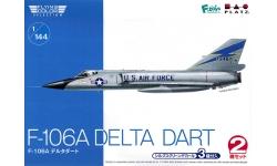 F-106A Convair, Delta Dart - PLATZ FC-10 1/144