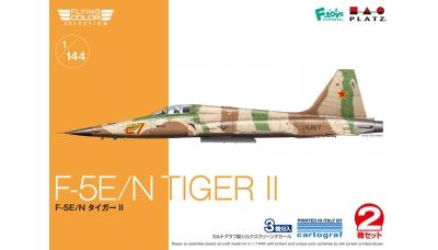 F-5E/N Northrop, Tiger II - PLATZ FC-13 1/144