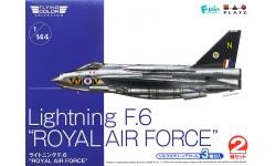 Lightning F.6 English Electric - PLATZ FC-6 1/144