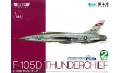 F-105D Republic, Thunderchief - PLATZ FC-8 1/144