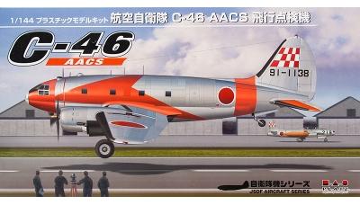 C-46 AACS Curtiss, Commando - PLATZ PD-23 1/144