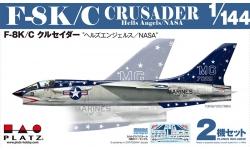 F-8A/С (F8U-1/2) / F-8K Vought, Crusader - PLATZ PDR-9 1/144