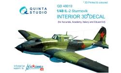Ил-2 Ильюшин. 3D декали (ACCURATE MINIARURES) - QUINTA STUDIO QD48010 1/48