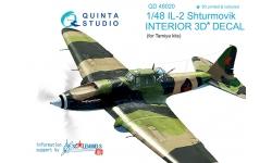 Ил-2 Ильюшин. 3D декали (TAMIYA) - QUINTA STUDIO QD48020 1/48