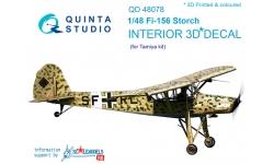 Fi 156C Fieseler, Storch. 3D декали (TAMIYA) - QUINTA STUDIO QD48078 1/48