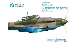 Ил-2 Ильюшин. 3D декали (TAMIYA) - QUINTA STUDIO QD72008 1/72