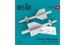 """Ракета авиационная Р-98МР класса """"воздух-воздух"""" - RESKIT RS48-0267 1/48"""