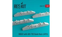 Балочный держатель BRU-32/A, адаптер ADU-703/A - RESKIT RS48-0273 1/48