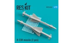 """Ракета авиационная Р-23Р класса """"воздух-воздух"""" - RESKIT RS72-0161 1/72"""