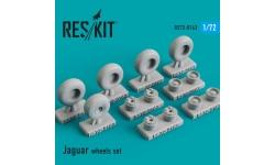Jaguar SEPECAT. Колеса шасси - RESKIT RS72-0163 1/72