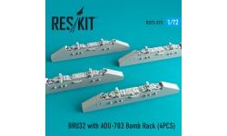 Балочный держатель BRU-32/A, адаптер ADU-703/A - RESKIT RS72-0273 1/72
