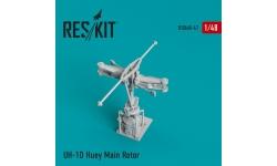 UH-1D Bell, Iroquois, Delta Huey. Конверсионный набор - RESKIT RSU48-0047 1/48
