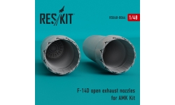 F-14D Grumman, Super Tomcat. Сопла (AMK) - RESKIT RSU48-0064 1/48