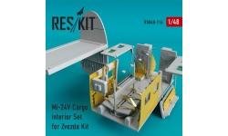 Ми-24 Миль. Конверсионный набор (ЗВЕЗДА) - RESKIT RSU48-0116 1/48