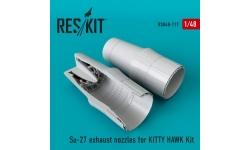 Су-27 Сухой. Сопла (KITTY HAWK) - RESKIT RSU48-0117 1/48