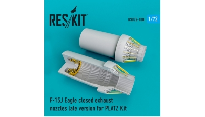 F-15J McDonnell Douglas, Mitsubishi, Eagle. Сопла (PLATZ) - RESKIT RSU72-0100 1/72