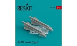 """Ракета авиационная Х-29Т класса """"воздух-поверхность"""" - RESKIT RS48-0101 1/48"""