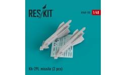 """Ракета авиационная Х-29Л класса """"воздух-поверхность"""" - RESKIT RS48-0102 1/48"""