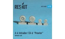 A-6 Intruder & EA-6 Prowler, Grumman. Колеса шасси - RESKIT RS72-0001 1/72