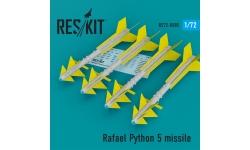 """Ракета авиационная Python-5 Rafael класса """"воздух-воздух"""" - RESKIT RS72-0085 1/72"""